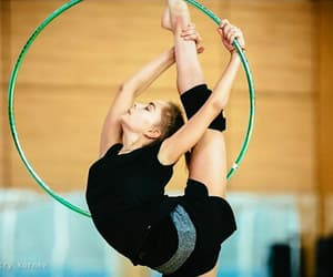 hoop, rhythmic gymnastics, and averina image