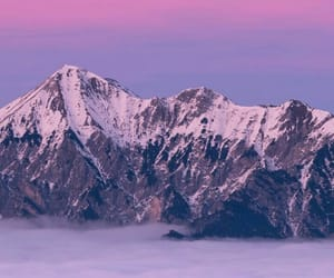 mountains and purple image