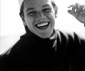 matt damon, actor, and black and white image