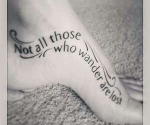 LOTR, tattoo, and not mine image