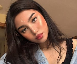 girl, icon, and make up image