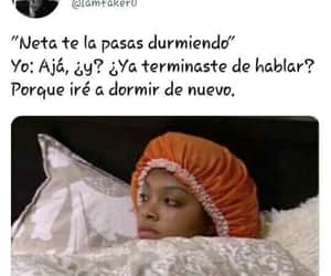 chicas, dormir, and frases image