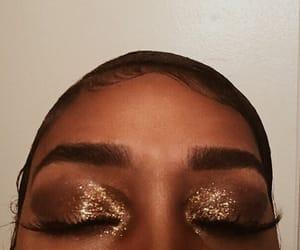 black, brown, and girl image