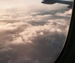 adventure, clouds, and Flying image
