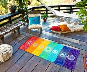colorful, exercise, and yoga image