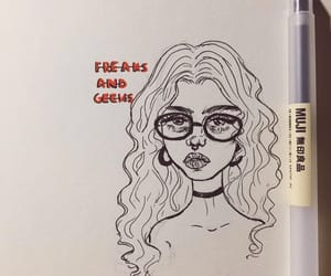 aesthetic, art, and freaks and geeks image