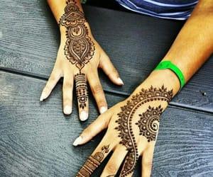 mehndi, henna designs, and mehndi designs image