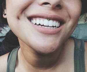 piercing, tattoo, and smiley image