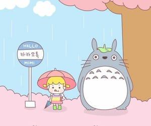 cute, kawaii, and totoro image