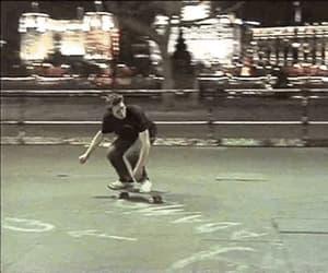 gif, skateboard, and skateboarding image