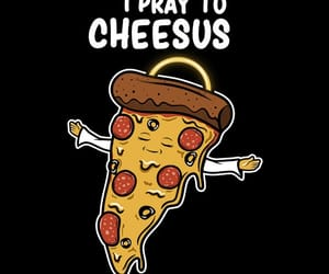 pizza, funny pictures, and oracion image