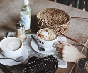 aesthetic, break, and cafe image