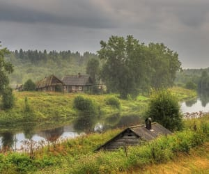 nature, russia, and summer image