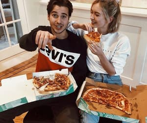 couple, food, and aesthetic image