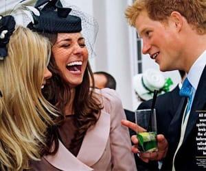 prince harry, kate middleton, and british royal family image