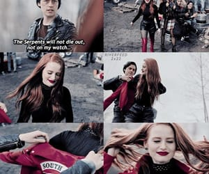 riverdale, jughead jones, and cheryl blossom image