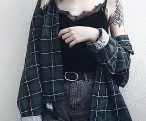 alternative, fashion, and tattoo image