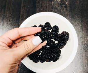 aesthetic, blackberry, and fruit image