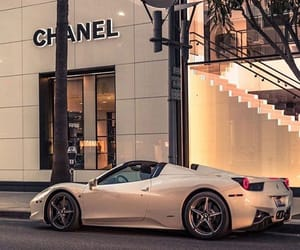car, luxury, and chanel image