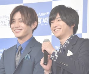 hey!say!jump, 山田涼介, and 知念侑李 image
