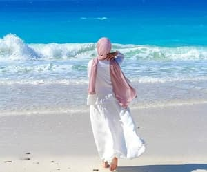 aesthetic, fashion, and beach image