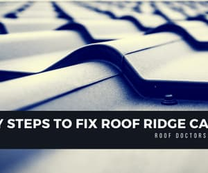 repainting ridge capping and ridge capping repairs image