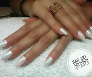 gel nails, natural nails, and cnd shellac image