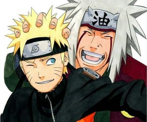 naruto, anime, and jiraiya image