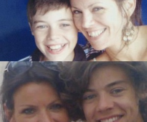 anne cox, one direction, and Harry Styles image