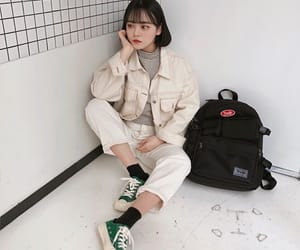 aesthetic, asian girls, and fashion image