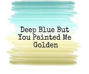 blue, breakup, and gold image
