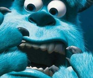 blue, wallpaper, and monstros sa image