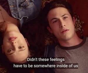 couple, hannah baker, and clay jensen image