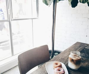 aesthetic, cafe shop, and coffee image