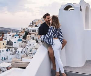 love, couple, and Greece image