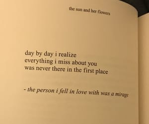 quotes, mirage, and love image