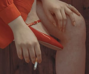 cigarettes, red, and smoking image