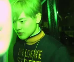 aesthetic, green, and mark image