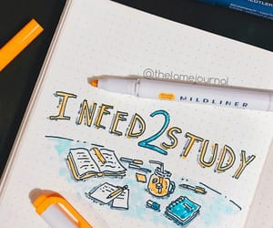 college, doodle, and inspiration image