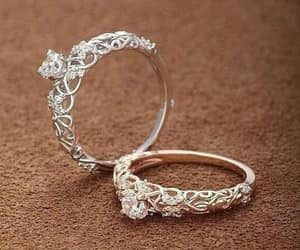 delicate, diamond, and ring image