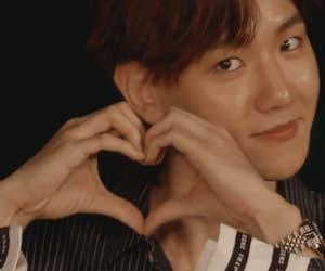 exo, gif, and heart image