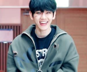 gif, smile, and baekhyun image