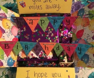 birthday, decoration, and gift image