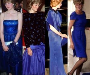 blue, diana, and dress image
