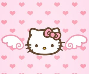 wallpaper, hello kitty, and background image