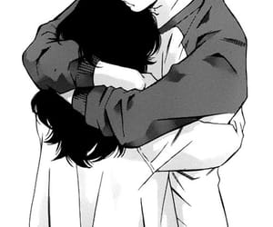 manga, anime, and hug image