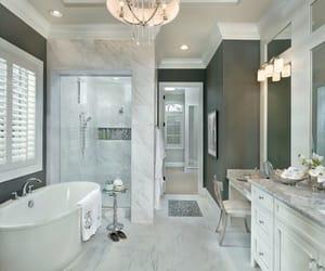 bathroom, decoration, and toilet image