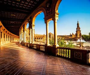 travel, seville, and spain image