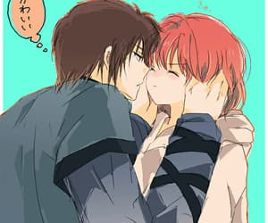 anime, couple, and gifs image