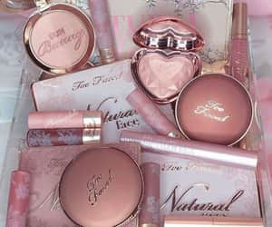 makeup, goals, and pink image